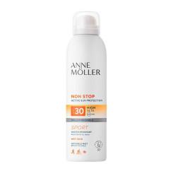 Päikesekaitsepihusti Non Stop Anne Möller Spf 30 (200 ml)