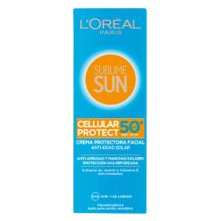 Солнцезащитный крем Sublime Sun L'Oreal Make Up Spf 50 (75 ml)