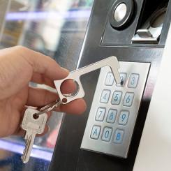 Hügieeniline võtmerõngas ukse avamiseks Mitmeotstarbelised Security