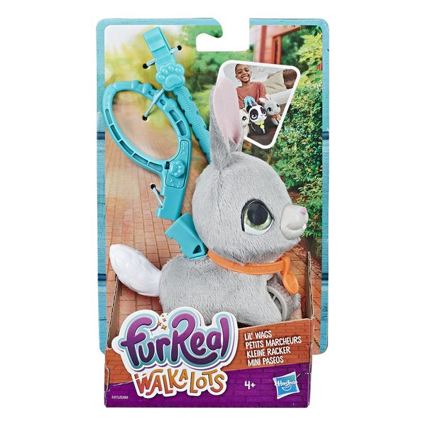 четвероногим другом Walkalots Conejito Paseos Furreal Friends Hasbro